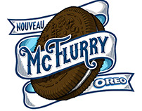 McFLURRY OREO