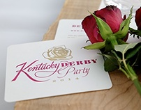 Kentucky Derby Logo and Coasters