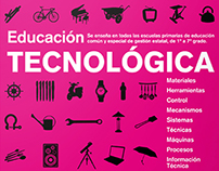 Afiches Materia Ed. Tecnológica