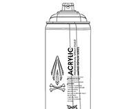 Ai Spray Paint Cans