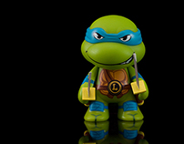 Kidrobot Teenage Mutant Ninja Turtles Studio Shots