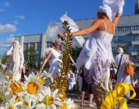 white procession
