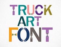 Truck Art Font