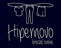Branding: Hipernovo Brechó Online.