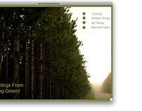 Spring Green Interactive Postcard