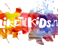 logo for internet project LikeTheKids
