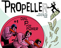 Propeller - Comic series. (Creator owner)