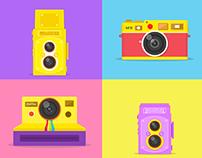leica&Polaroid&Rolleiflex