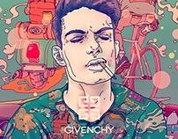 givenchy X CJroblue
