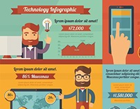 Hipster Infographic Template