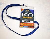 """""""I Am"""" Concert ID Design"""