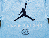 NCAA Take Flight Shirt Design