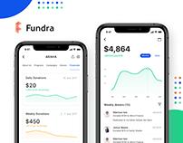 Fundra - Donate & Fundraising App Case Study