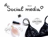 Social Media. Lingerie.