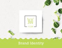 360 Vegan - Brand Identity