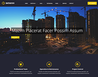 Batakoo - Modern Construction WordPress Theme