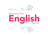 Breaking the english barrier