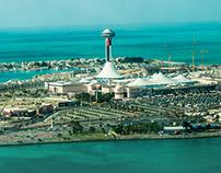 Abu Dhabi Corniche - Arial Photography