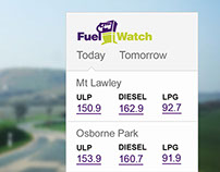 Fuel Watch Widget