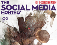 Social Media Magazine Cover Design