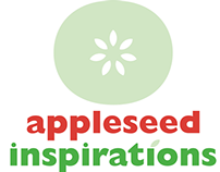 Appleseed Inspirations logo design + branding