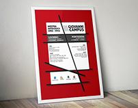 Giovanni Campus - Art exhibition poster