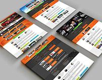 AMB Motors: Дизайн сайта.