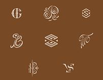 Monogramms December 2014 - January 2015