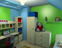 Aranżacja pokoju dla dziecka Kraków | Kid room