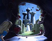 Meeting the Queen of Hearts (Disney's Alice in WL)