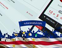 Web site Tubarão Azul - CAN 2015