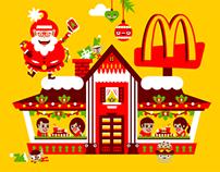 Magia Świąt w McDonald's