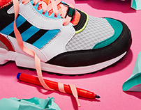 Adidas: Personal Project: Set Design: MLMStylist