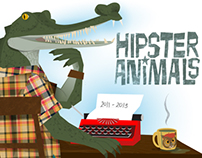 Hipster Animals - web 2015
