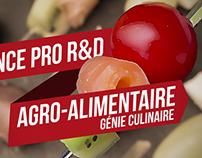 Licence Agro-Alimentaire / Génie Culinaire