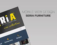 SeriA Furniture Mobile Web Design