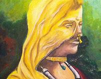 Painting - Rajasthani Potrait