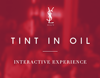 YSL TINT-IN-OIL / Interactive experience