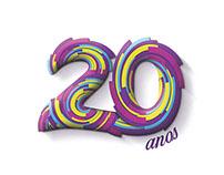 Selo 20 anos - Aqui Agora