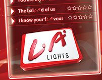 LA Lights Branding Venue Poster 2012