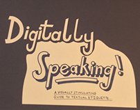 Digitally Speaking: A Visual Guide To Text Etiquette...