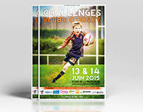Affiche Rugby