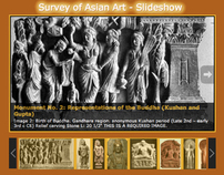 Survey of Asian Art (university course website)