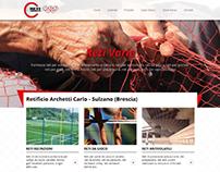 Sito web ecatalogue per produttore di reti a Brescia