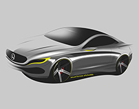 Mercedes-Benz concept  sketch