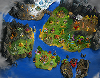 Global map of gameworld