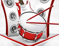 RELAX Mild Branding Venue Poster