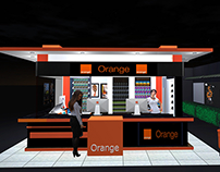 Orange mini shop