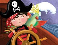 The Little Pirate - Nalan Aktaş Sönmez - ErNa Yayınları