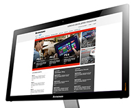 Lenovo | Interactive Projects for Channel Support